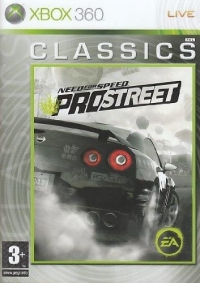 Need for Speed: ProStreet - Classics Box Art