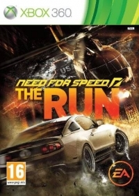 Need for Speed: The Run [DK][FI][NO][SE] Box Art