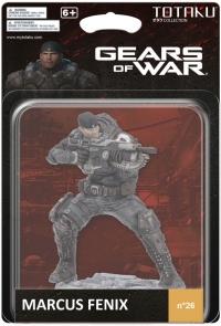 Totaku Collection n.26: Gears of War - Marcus Fenix Box Art