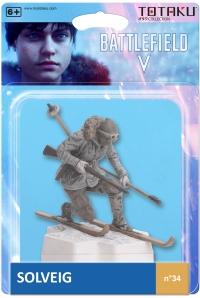 Totaku Collection n.34: Battlefield V - Solvieg Box Art