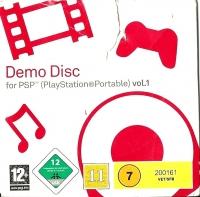 Demo Disc for PSP Vol.1 Box Art