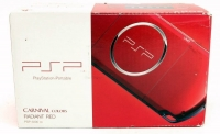PlayStation Portable 3000 Radiant Red Box Art