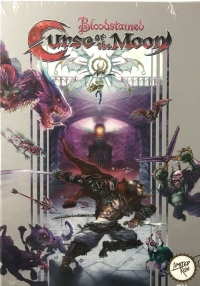 Bloodstained: Curse of the Moon Classic Edition Box Art