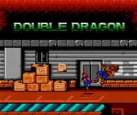Double Dragon (NES) Box Art