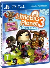 LittleBigPlanet 3: Extras Edition Box Art
