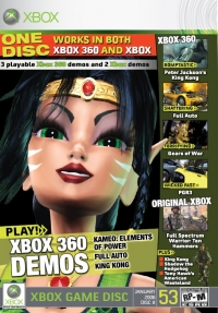 Official Xbox Magazine Disc 53 January 2006 Box Art