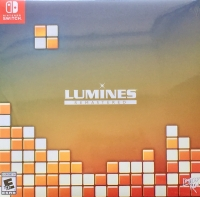 Lumines Remastered: Deluxe Edition Box Art
