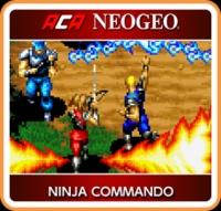 ACA NeoGeo Ninja Commando Box Art