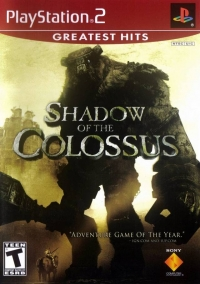 Shadow of the Colossus - Greatest Hits Box Art