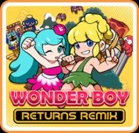 Wonder Boy Returns Remix Box Art