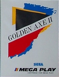 Golden Axe II Box Art
