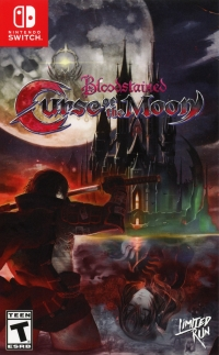 Bloodstained: Curse of the Moon (Zangetsu cover) Box Art