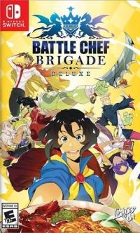 Battle Chef Brigade Deluxe (yellow cover) Box Art