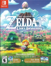 Legend of Zelda, The: Link's Awakening - Dreamer Edition Box Art