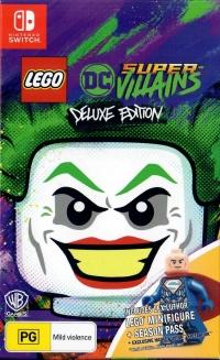LEGO DC Super-Villains - Deluxe Edition Box Art