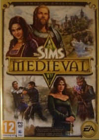 Sims Medieval, The - Limited Edition [FI] Box Art