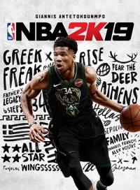 NBA 2K19 Box Art