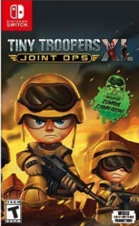 Tiny Troopers Joint Ops XL Box Art