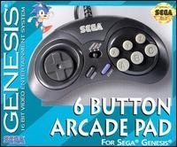 6 Button Arcade Pad (MK-1470) Box Art