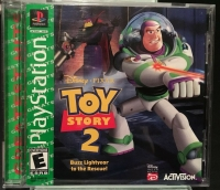 Toy Story 2: Buzz Lightyear to the Rescue - Greatest Hits Box Art