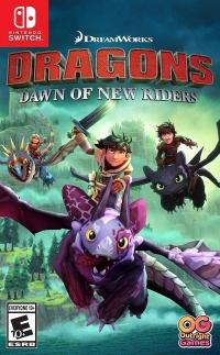 DreamWorks Dragons: Dawn of New Riders Box Art
