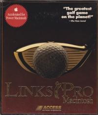 Links Pro Macintosh Box Art