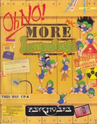 Oh NO! More Lemmings Box Art
