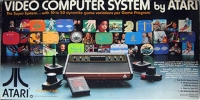 Atari Video Computer System CX-2600 (Printed in USA) Box Art