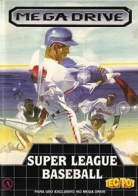 Super League Baseball Box Art