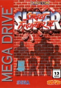 Super Street Fighter II Box Art