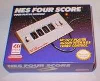 Nintendo NES Four Score Box Art