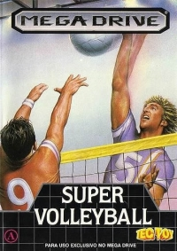 Super Volleyball Box Art