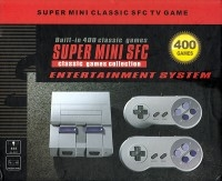Super Mini Classic SFC TV Game Entertainment System (400 Games) Box Art
