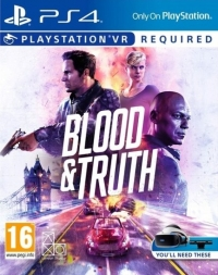 Blood & Truth Box Art
