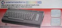 Commodore 16 [DE] Box Art