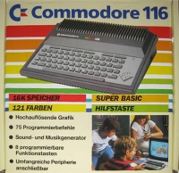 Commodore 116 Box Art