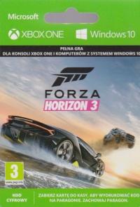 Forza Horizon 3 (Xbox One / Windows 10) [PL] Box Art