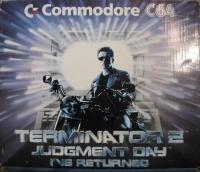 Commodore 64 - Terminator 2: Judgment Day: I've Returned Box Art