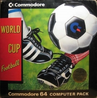 Commodore 64 - World Cup Football Computer Pack Box Art