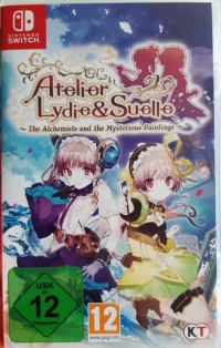 Atelier Lydie & Suelle: The Alchemists and the Mysterious Paintings [DE] Box Art