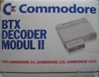Commodore BTX Decoder Modul II Box Art