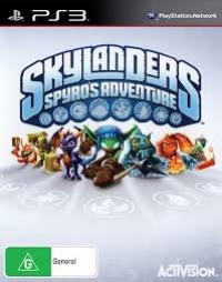 Skylanders Spyro's Adventure Box Art