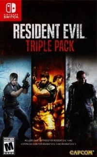 Resident Evil Triple Pack Box Art
