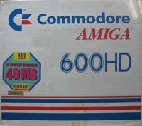 Commodore Amiga 600HD Box Art
