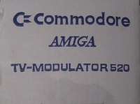 Commodore Amiga TV-Modulator 520 Box Art