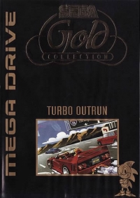 Turbo OutRun - Gold Collection Box Art