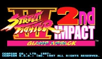 Street Fighter III 2nd Impact: Giant Attack Box Art