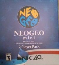 Neo Geo Mini USA Edition Box Art