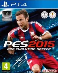 Pro Evolution Soccer 2015 Box Art