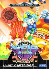 Wonder Boy III: Monster Lair (Info-Sega Hot-Line) Box Art